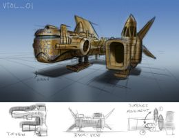 Just an early sketch in the project by UptownPete