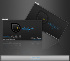 Business card by Dinomann by Dinomann