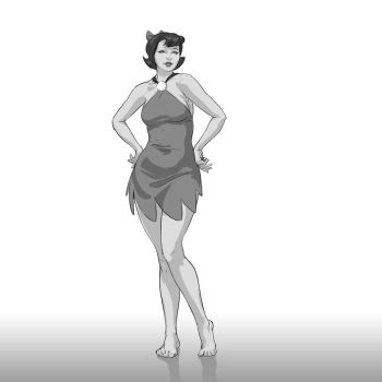 Fanart 65 Betty Rubble (Flintstones) by justsantiago