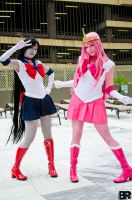Sailor Scouts by EmilyScissorhands
