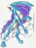 Northern Wind-Suicune by AyaAkuisamu
