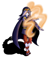 The Wind Mage by aska-ray