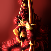 HoE - The Archer by Aquaria-Moon