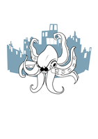 Giant Octopus by Crux-Brainchild