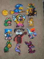 Bead Sprite Collection by WickedAwesomeMario81