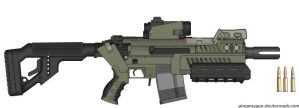 UD: Assault Rifle by HWPD