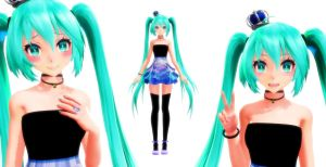 MMD TDA Miku edit DL by MMDMikuMikuLen