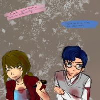 Sally and Clark's Silent Hill Au by Stina006