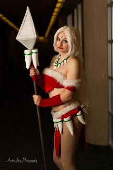 Snow Bunny NIdalee by Crossbone Cosplay by Shroker