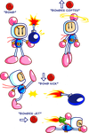 B-Button Bomberman 8D by JamesmanTheRegenold