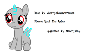 Base  24- Filly Stare -REQUESTED- by Cherryblossoms-Bases