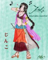 Jinko of the Dancing Blade by Shidyk