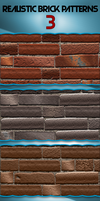 Realistic Brick Pattern by jqsdigital