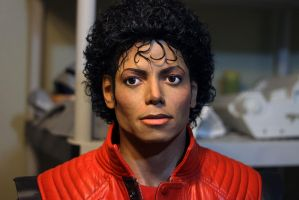 NEW Michael Jackson 2.0 Lifesize Thriller era bust by godaiking