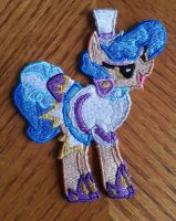 Sapphire Shores Embroidery by EthePony