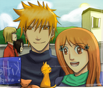 IchiHime- Window Shopping by goldenthyme