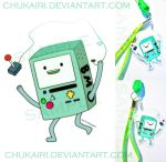 BMO-catch your controller by Morigalaxy