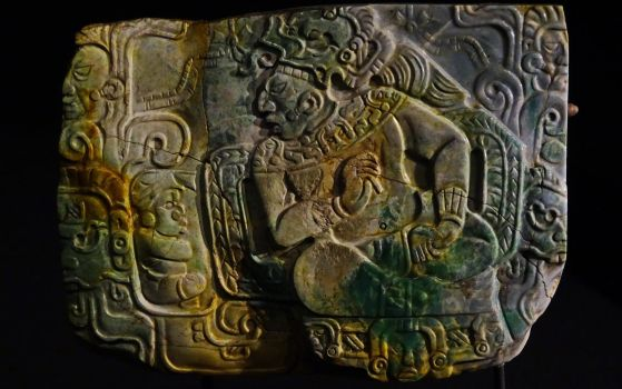 Maya relief plate by UdoChristmann