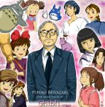 The Many Faces Of Miyazaki by Mellerz-Forever