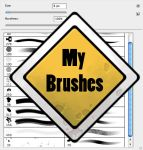 My brush set by Gimaldinov