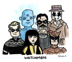 Watchmen quickie by TRAVALE
