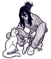 aizawa doodle by TheUltimateEnemy