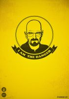 Walter White - I am the danger by mrsbadbugs