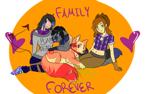 Family by AtlantianOwl