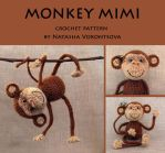 Monkey Mimi the Crochet Pattern by kuzzee