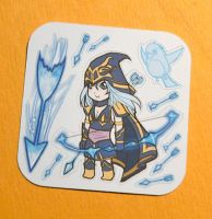 Ashe stickers by Etherpendant
