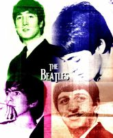 The Beatles by halfbloodgirl9