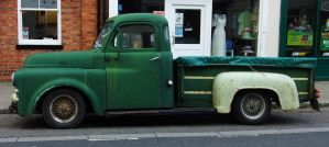 Old Dodge Truck 1 by fuguestock