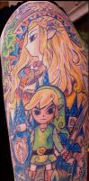 zelda tattoo by ShannonRitchie