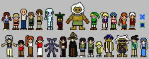 Tome of Lineage Sprites by ThuhJesheekuh