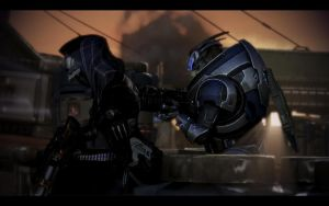 ME3 LDLC - Tali and Garrus by chicksaw2002