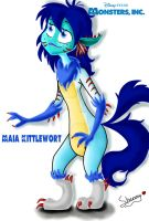 Monsters Inc: Meet Maia! by Shenny-Shendelier