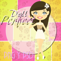 Doll En Psd y png by VikyTutos
