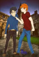 Harry Likes Ginny by yukisei