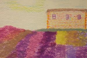 Country Road_Lavendar Fields by Urceola