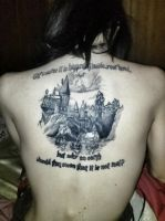 Harry Potter Tattoo by unemployedmagician