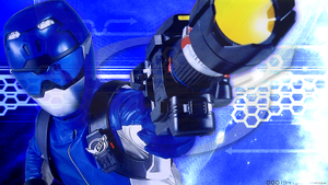 Tokumei Sentai Go-Busters: Blue Buster REVAMPED by OOO19415