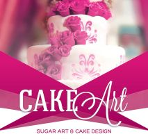 Cake Art Event Flyer Template by loswl