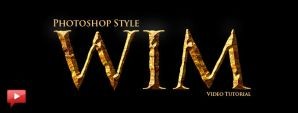Create The Hobbit Gold Text Effect in Photoshop by imonedesign