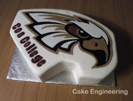 Coe College Cake by cake-engineering
