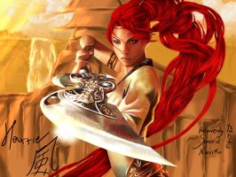 Nariko  heavenly sword by shihodani