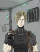 Leon S. Kennedy by SecretMoon