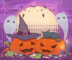 This is Chocovainiween! by Kialun