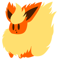 Eeveeloution Vector: Flareon by Skele64
