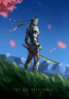 Cyborg Ninja Dude by TheDamn-ThinGuy