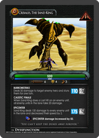 Dota2 TCG - Sand King by goldenhearted